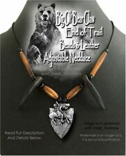 END OF TRAIL BEAR CLAW NECKLACE - GRIZZLY MOUNTAIN MAN HAT BAND - FREE SHIP NEW'