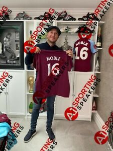 Mark Noble Hand Signed T-shirt Ideal For Framing With COA Bidding From £60