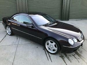 Mercedes CL500 W215 Classic