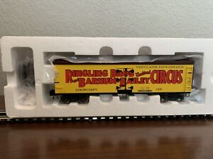 K-Line by Lionel 6-22249 RIngling Bros Wooded Sided Reefer Dining Dept - NIB