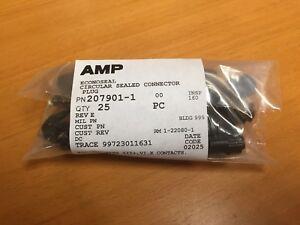 TE/TYCO/AMP 207901-1 Circular Connector, Econoseal, Cable Mount Plug (25pcs)