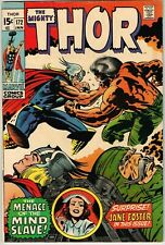 Thor #172 (1963) - 7.0 FN/VF *The Immortal and the Mind Slave*
