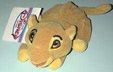 "Disney Store The Lion King Simba Mini Bean Bag Plush 8"" NWT"