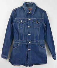 Diesel Womens Denim Long Cotton Jacket - Extra Large XL #1347