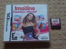 FASHION MODEL   - Rare Nintendo DS Game