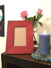 Red Antique Style Photograph Frame John Lewis Rrp £22