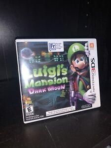 Luigis Mansion Dark Moon - Nintendo 3DS -