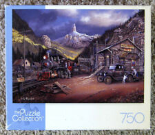 Nuggettville Train Ted Blaylock Jigsaw Puzzle Collection 750 Pieces Complete