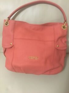 NWT Burberry Blue Label Pink Leather Shoulder Bag
