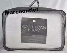 Hotel Collection European White Goose Down KING Pillows Soft Support