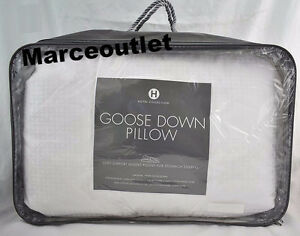 Hotel Collection European White Goose Down STANDARD QUEEN Pillows Soft Support
