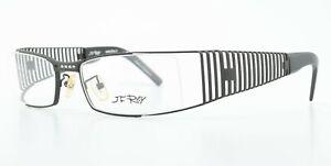 JF Rey Brille JF2245 0001 56-19 127 Grau Matt Gitter Designer Metal Frame Wrap