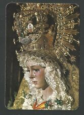 Estampa de la Virgen Macarena andachtsbild santino holy card santini