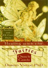Doreen Virtue Healing with the Fairies Oracle Tarot Cards New 2001 OOP Rare!