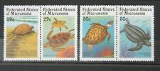 - Micronesia 1991 Mi. 215-218 ** MNH żółwie turtles Schildkröten