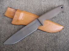 Busse Combat INFI Dog Soldier 8 Knife Custom Molded Leather SheathTAN