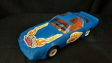 Vintage Firebird Fever Slot Car, Battery Operated, Blue