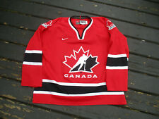 Vintage TEAM CANADA Hockey Jersey Lg by Nike