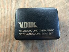 Volk Super Pupil NC w/ contact, lid adaptors indirect ophthalmoscopy lens fundus