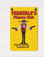 Players Slot Club Rewards Card Terrible'S Hotel & Casino Las Vegas Nevada