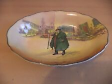 OLD ANTIQUE ROYAL DOULTON CHINA DICKENS SERIES WARE TONY WELLER LARGE OVAL bowl