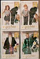 Harry Potter Wizarding World Action Figures DUMBLEDORE McGonagall RON Ginny Lot