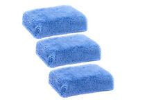 Microfiber wax applicators apply sealant wax polishes interior dressing soft