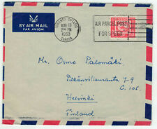 Canada MI 269 EF Letter with airmail after Finland