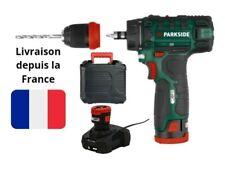 PARKSIDE® Perceuse Visseuse Sans Fil PBSA 12 02 Chargeur Batterie 12 V X12VTEAM