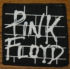 PINK FLOYD WALL VINTAGE CIRCA 1980 EMBROIDERED WOVEN CLOTH SEWING SEW ON PATCH