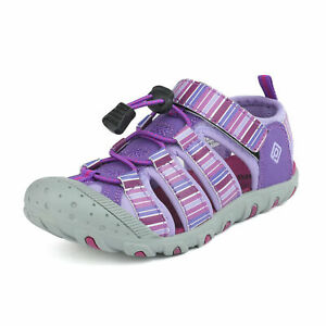 Boys Girls Kids Youth Athletic Sandals Closed toe Summer Beach Sports Sandals