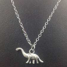 Dinosaur Necklace,Silver handmade necklace,Fashion charm jewelry pendants