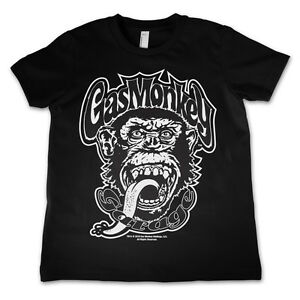Officially Licensed Merchandise Gas Monkey Logo Kids T-Shirt Ages 3-12 Years