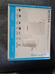 NETGEAR Powerline AV200 Wireless-N Wifi Extender Kit Edition XAVNB2001. Boxed