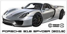 New! Collectable Porsche 918 Spyder (2015) Sticker