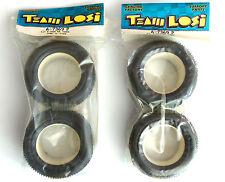 "Team Losi 1/10 2.2"" X-2000 Buggy Rear Tires ""2-Pieces"" (Reifen) ""NEW"" LOSA7369P"