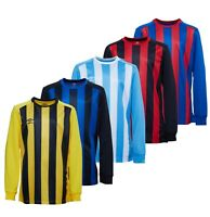 Boys Umbro Stripe Soccer Jersey Football Shirts Top Sizes Age from 7 to 14 Yrs