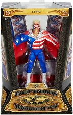 WWE DEFINING MOMENTS STING FIGURE WCW THE GREAT AMERICAN BASH 1990