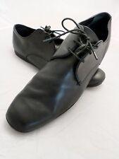 BALLY Switzerland Kent modern black leather oxfords rubber sole dress shoes 11D