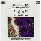 Beethoven: Piano Sonatas, Vol. 5 - Op. 10, Nos. 1-3, Op. 79, , Very Good Import