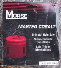 "Morse Bi Metal Hole Saw Pn Av72 4 1/2"" Nib"