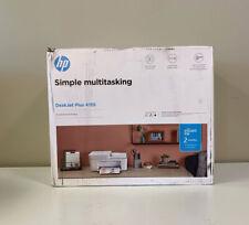 HP DeskJet Plus 4155 Wireless All-in-One Printer 3XV13A (See Description)