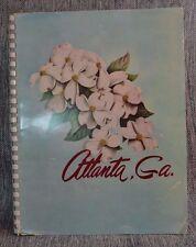 Vintage City Guide Atlanta GA Gateway to the South ca 1950 photos maps facts