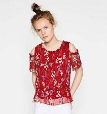 Zara Hips Cap Sleeve Blouses for Women