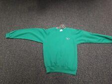Adidas Vintage Small Green Sweatshirt