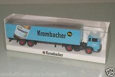 "Wiking 1:87  2583 MB LPS 1620 Koffer-Sattelzug ""Krombacher"" OVP(EH4253)"