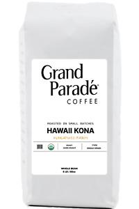 100% Hawaiian Organic Kona Fresh Dark Roasted Coffee, Whole Beans, 5 lbs Bag