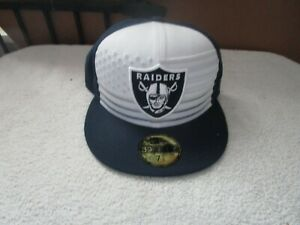 Official 2019 NFL Draft On Stage Oakland Raiders New Era 59FIFTY Fitted 71/4 NWT