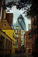 The Gherkin 30 St Mary Axe London England UK Photograph Picture Print