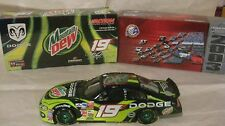 Rare Nascar #19 Jeremy Mayfield Mountain Dew Dodge 124 Scale Diecast 2003 dc1084